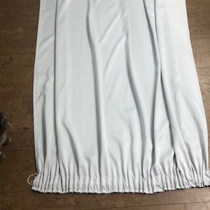 A pair of IKEA curtains